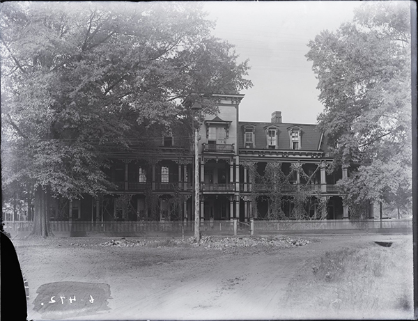 Black and white image of Tuscaloosa Female College, circa 1900