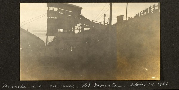 Muscoda number 6 ore mine, 1924