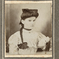 A photograph from the Carte de Visite Project