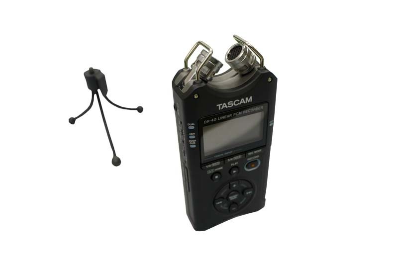 Tascam DR-40 Portable Handheld Audio Recorder
