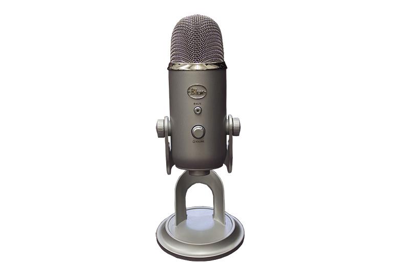 Blue Yeti Portable USB Microphone