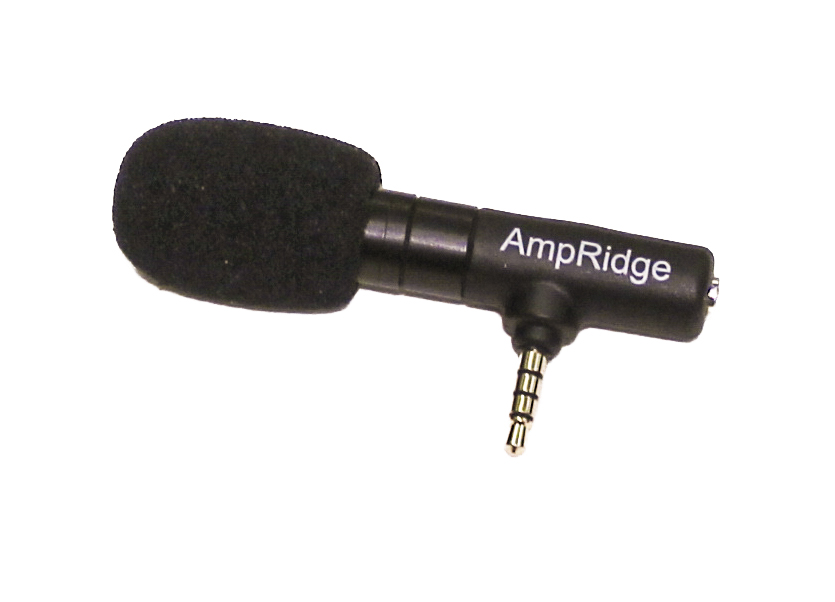 Mobile shotgun mic, compatible with most smartphones.