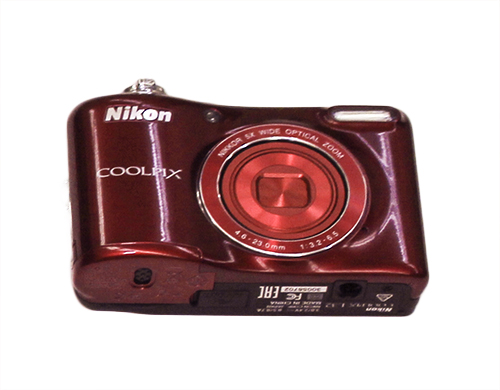Nikon Coolpix L32 point and shoot digital camera