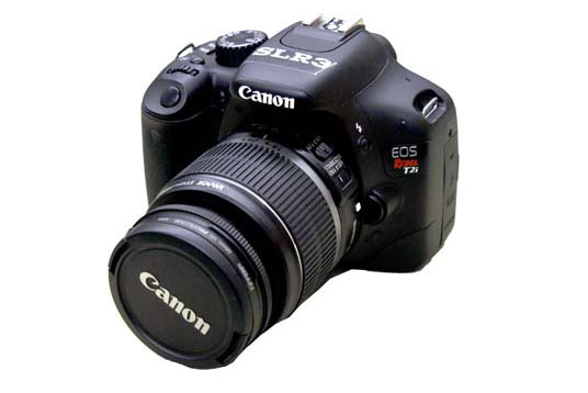 Canon T2i Digital SLR Camera