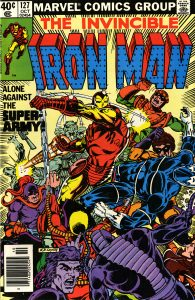 Cover of Iron Man comic