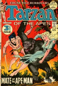 Cover of Tarzan comic