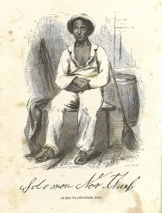 Frontispiece from Northup's Twelve Years a Slave. 1853.