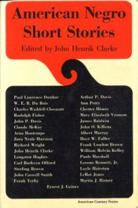 Cover of Clarke's American Negro Short Stories