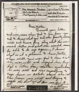 Handwritten v-mail