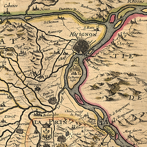 Avignon, modern France, and the Rhône River