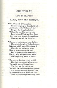 Poem from Paine's Six Years in a Georgia Prison. 1851.