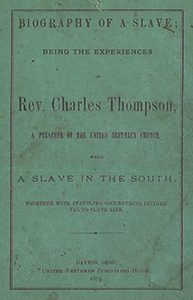 Cover of Thompson's Prison Life and Reflections